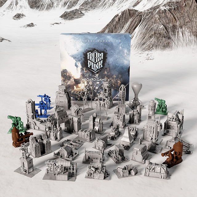 ❄ Frostpunk: The Board Game (Miniatures Expansion)