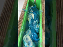 Load and play video in Gallery viewer, beach day artisan exfoliating shea butter soap