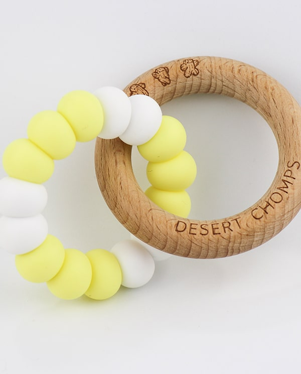 Desert Chomps Lasso Summer Time Teether - Lemonade Pop