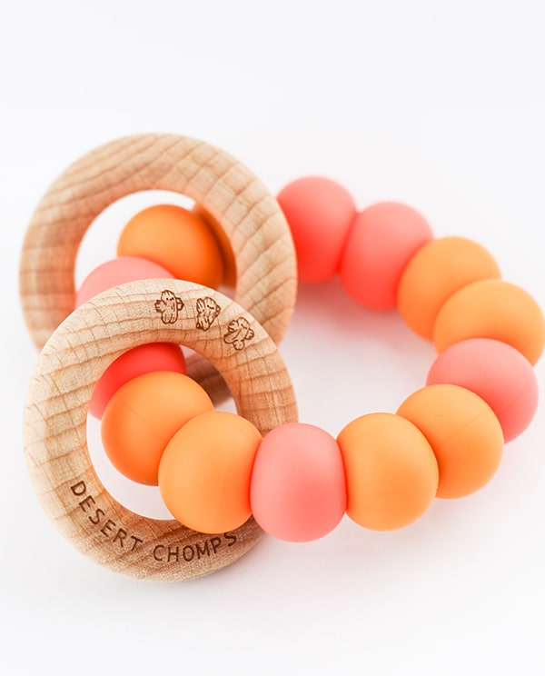 Desert Chomps Ringlet Classic Teether - Mango Passion