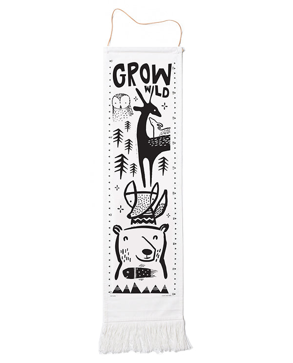 Wee Gallery - Canvas Growth Charts - Woodland