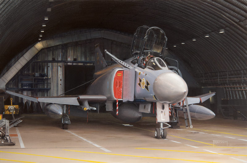Lurking at Leuchars - MDD Phantom FG.1