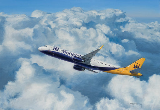 A Farewell to Monarch - Airbus A321 Monarch Airlines