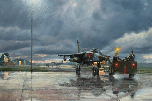 Dreich Evening at Lossie - SEPECAT Jaguar - 226 OCU