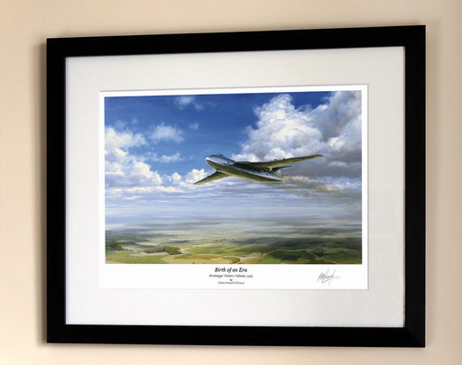 Birth of An Era - Vickers Valiant - Framed Print