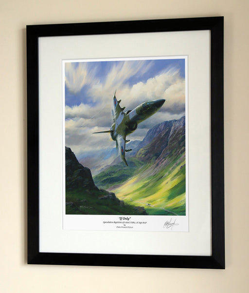 If Only - TSR.2 - Framed Print
