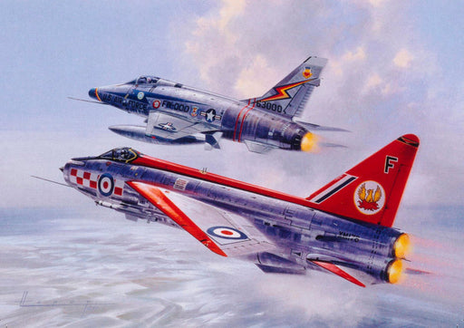 Wilfred Hardy GAvA - NATO Neighbours - English Electric Lightning (W)