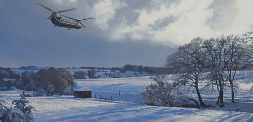 Alex Hamilton - On A Cold and Frosty Morning - Boeing Chinook