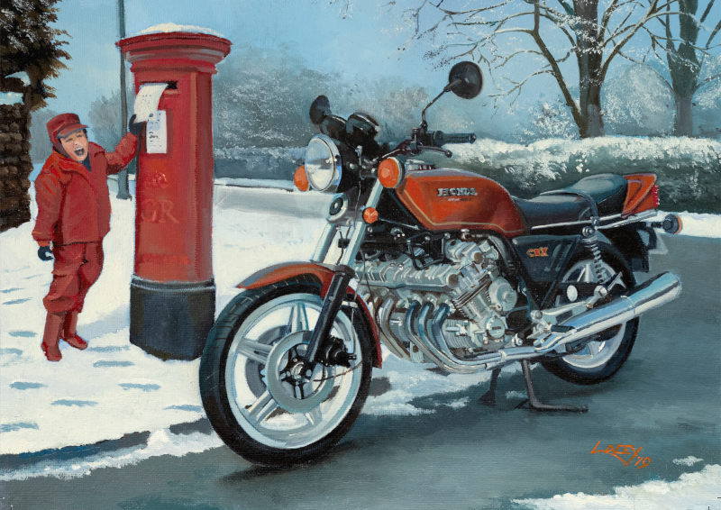 Lee Lacey - All I Want For Christmas - Honda CBX