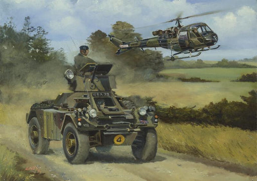 Lee Lacey - Eyes of the Army - Ferret Armoured Car (W)