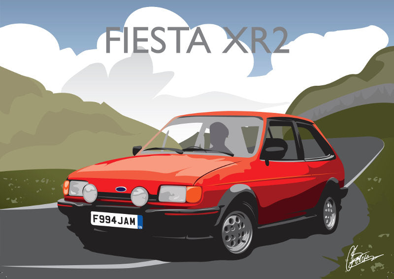Connor Bentley - Ford Fiesta XR2