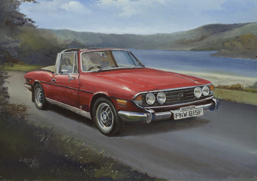 Lee Lacey - Stag in the Highlands - Triumph Stag (W)