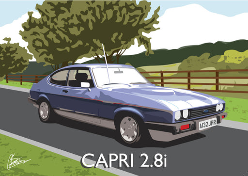Connor Bentley - Ford Capri 2.8i