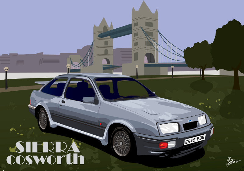 Connor Bentley - Ford Sierra Cosworth