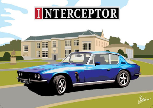 Connor Bentley - Jensen Interceptor