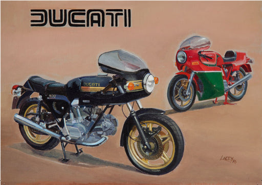 Motorcycle Marques - Ducati 900SS Desmo and Mike Hailwood
