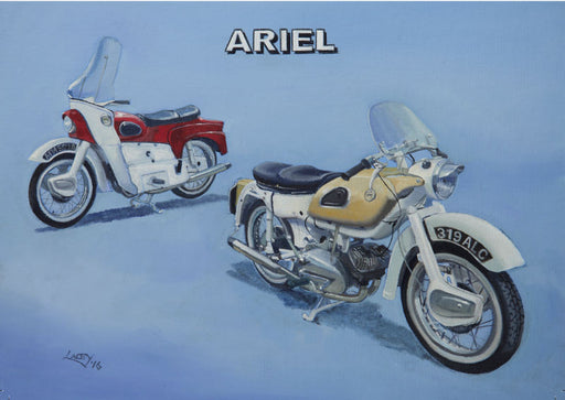 Motorcycle Marques - Ariel Arrow and Leader
