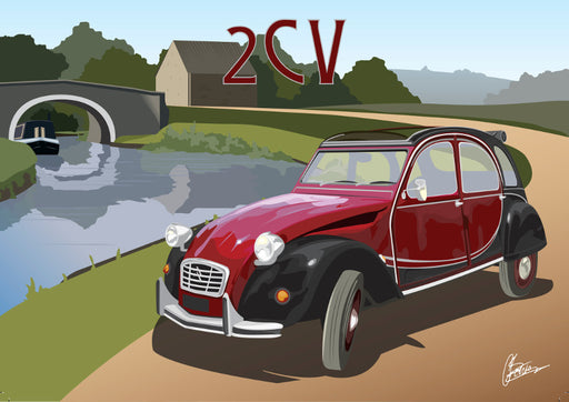 Connor Bentley - Citroen 2CV