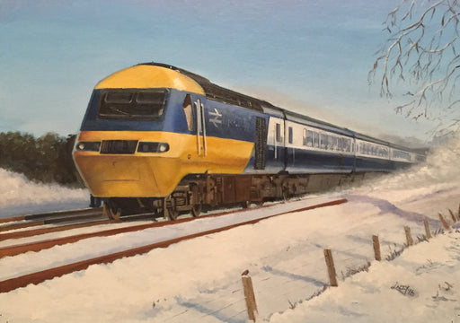 Lee Lacey - Inter-City Winter - Inter-City 125 (W)