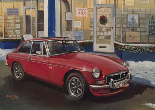 Lee Lacey - The Artist's MG - MGB GT V8 (W)