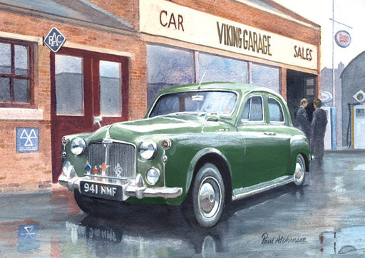 Paul Atchinson - A Very Stylish Auntie - Rover P4 (W)