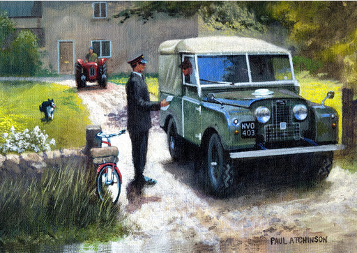 Paul Atchinson - Not Much Today - Land Rover (W)