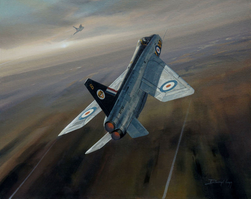 Tigers Rising - English Electric Lightning