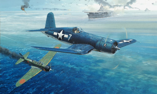 A Big Day For Ike - Vought F4U Corsair