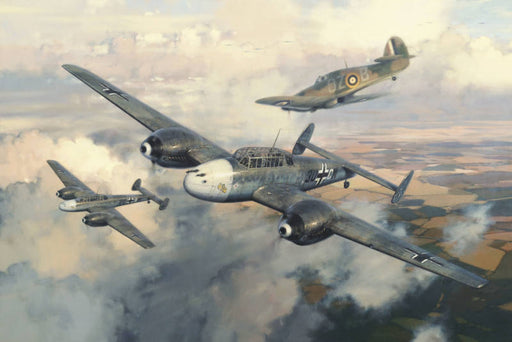 Combat Over North Weald - Messerschmitt Bf 110