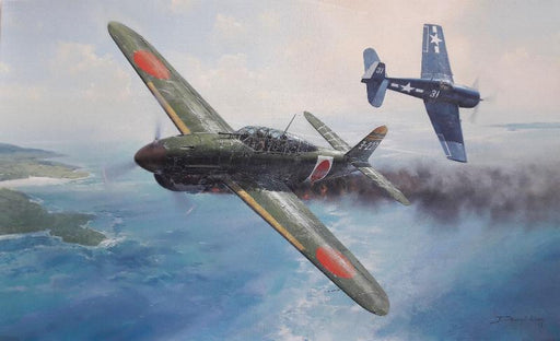 Final Victory - D4Y Judy and F6F Hellcat