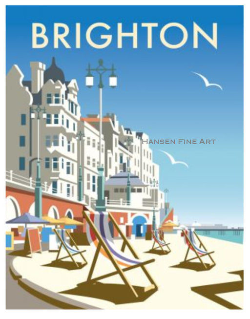 Dave Thompson - Brighton Beach Print