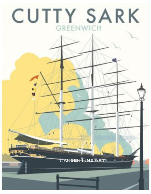 Dave Thompson - Cutty Sark Greenwich Print