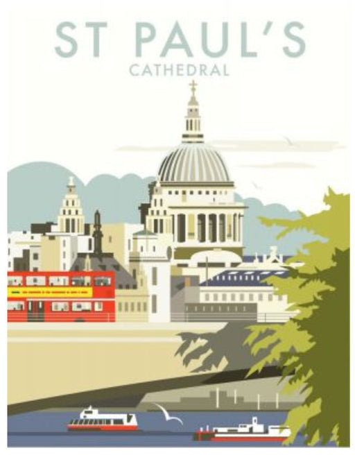 Dave Thompson - St. Paul's Cathedral London Print