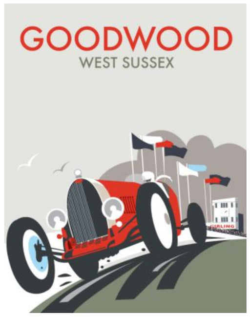 Dave Thompson - Goodwood Festival of Speed Print