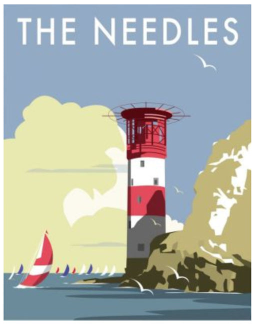 Dave Thompson - The Needles Lighthouse Print