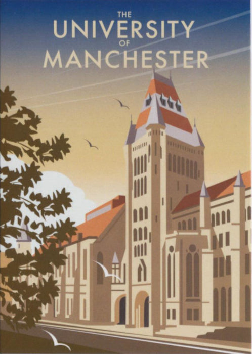 Dave Thompson - University of Manchester Print
