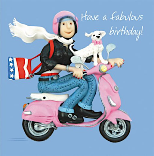 Erica Sturla - Have A Fabulous Birthday - Scooter