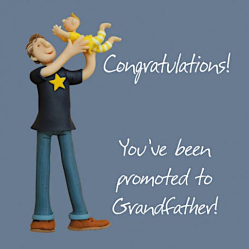 Erica Sturla - Promoted to Grandfather