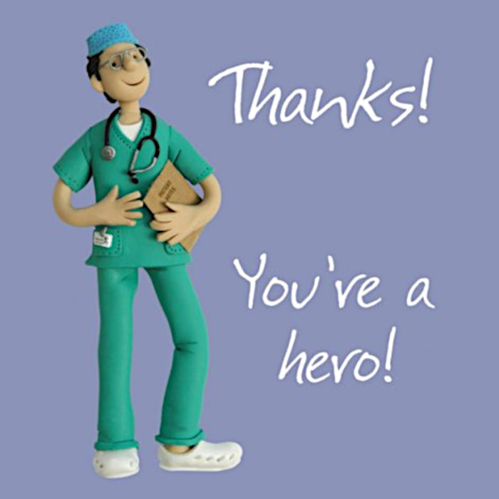 Erica Sturla - You're A Hero - Doctor