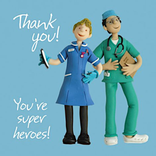 Erica Sturla - You're Superheroes - Nurse & Doctor