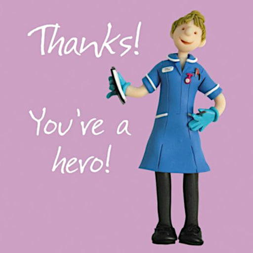 Erica Sturla - You're A Hero - Nurse