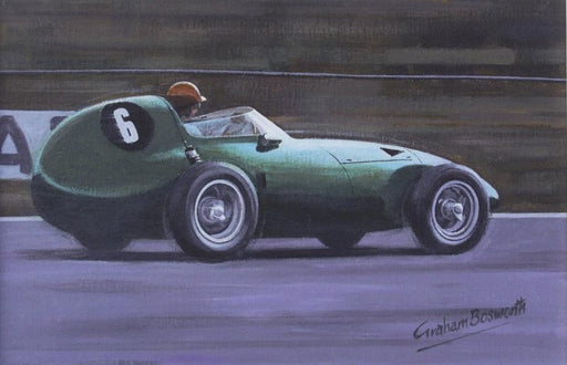 Masters at Work - Tony Brooks - Vanwall VW7