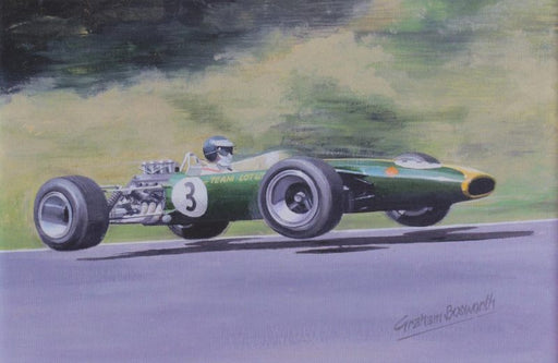 Masters at Work - Jim Clark - Lotus 49