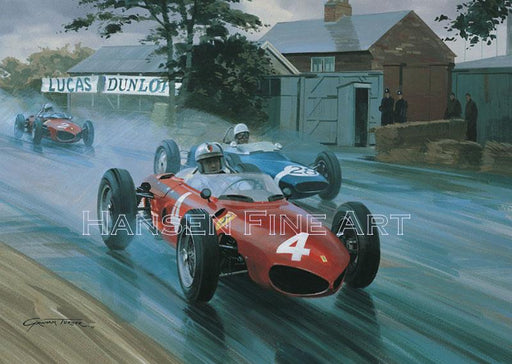 1961 British Grand Prix - Ferrari Sharknose