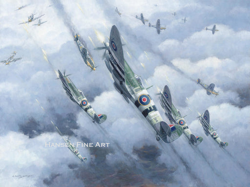 Gunfight over Lisieux - Supermarine Spitfire Mk.IX