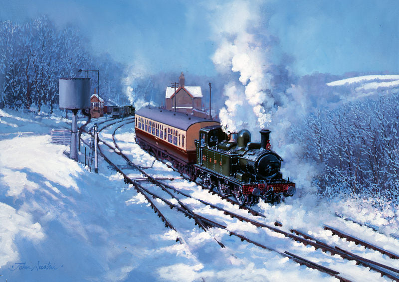 John Austin - Highley Winter - GWR 48xx (W)