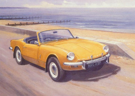 Kevin Walsh - Spitfire on the Road - Triumph Spitfire