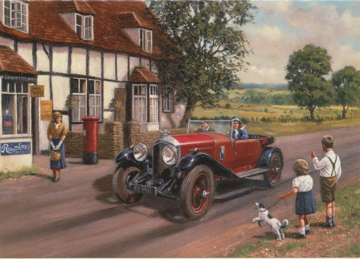 Kevin Walsh - Out in the Country - Bentley 4.5 litre