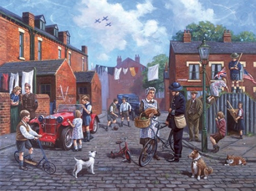 Kevin Walsh - Britain at War - 1940s Street Scene
