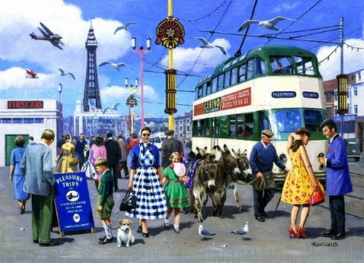 Kevin Walsh - Happy Days at Blackpool - Blackpool Tram